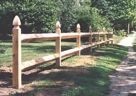 2 Rail Square Cedar Medium™