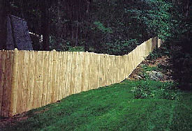 48' x 96' Stockade Wood Fence Panel - Milo: Local Shopping