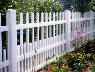 Open Picket Fence