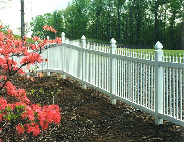 Ornimental Fences installed by Abel Fence Co.