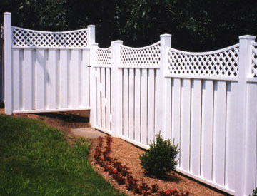 Elegant Privacy Fence for free quote call Able Fence Company